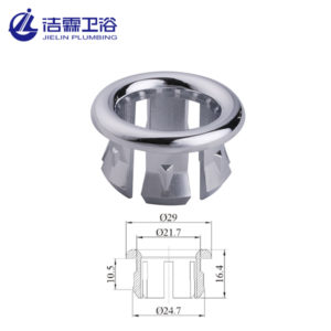 22mm or 25mm basin overflow cover-1