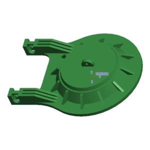 3 inch pvc toilet flapper for American market-1