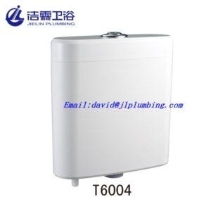 Plastic toilet flush tank-1