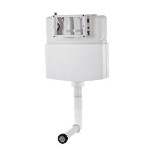 chrome button dual flush conceal cistern for-1